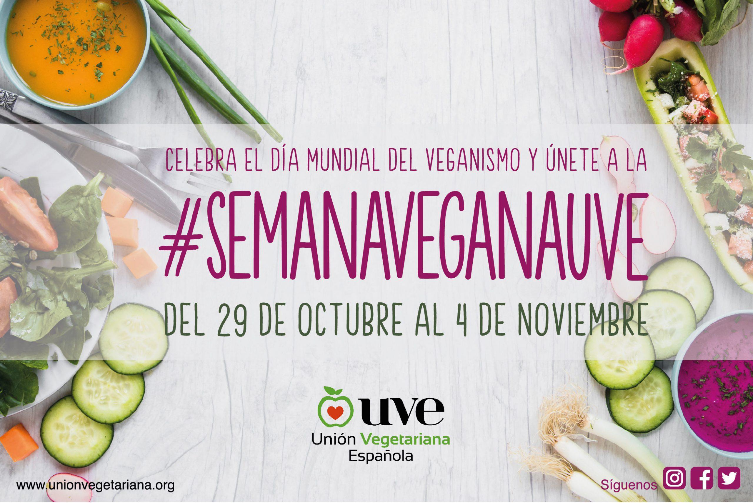 semana vegana union vegetariana española