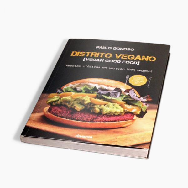 """Libro """"Distrito Vegano"""", por Pablo Donoso"""