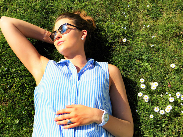 La exposición al sol aumenta los niveles de vitamina D