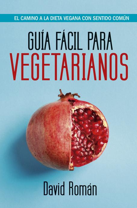 """Portada libro """"Guía fácil para vegetarianos"""""""