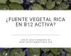 Lentejas de agua: ¿fuente vegetal de vitamina B12?