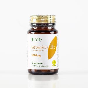 Suplemento vitamínico B12, 2000 microgramos