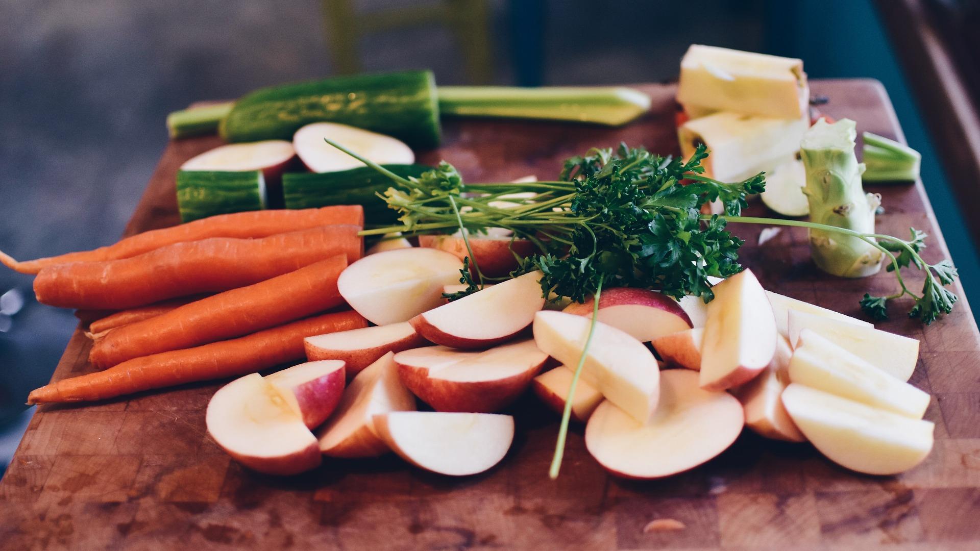 tabla raciones veganas y vegetarianas