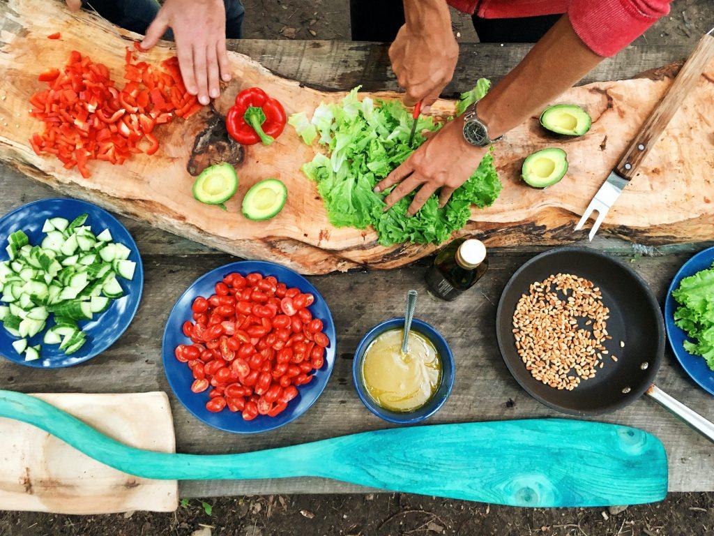 batch cooking vegano